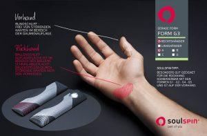 Straight handle design G3