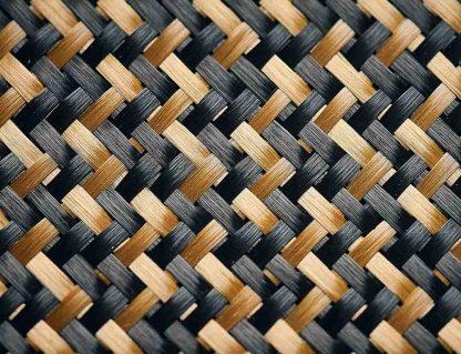 Makroaufnahme der Kunstafser Z-Carbon verbaut in den Tischtennishölzern von Soulspin