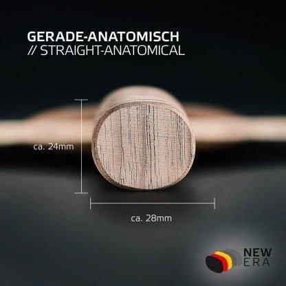 Länge und Breite gerade-anatomischer Griff NEW ERA
