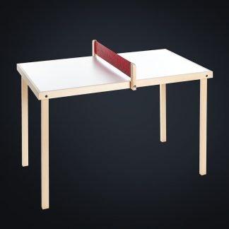 Mini Tischtennis-Platte aus Holz für Zuhause