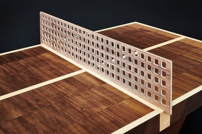Detailansicht Netz Miniatur Tischtennis Tisch