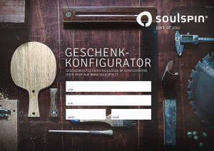Geschenk-Gutschein SOULSPIN Tischtennis Shop