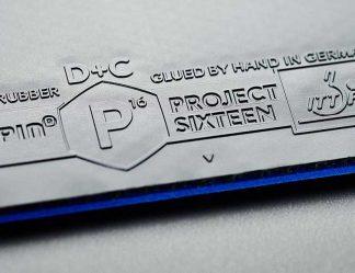 Schneller Tischtennisbelag blauer Schwamm Project 16 kaufen im Tischtennis Shop von Soulspin